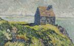 61 Louis VALTAT (1869-1952) La Cabane Vauban dans la baie du Mont Saint Michel 1899
