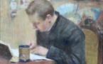 85 Maurice ELIOT Portrait de Charles Léandre dans l'atelier Adjugé 11600