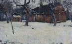 10 La maison de la boulangerie sous la neige, Adjugé 3500