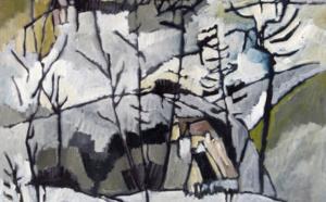 216 Paysage d'hiver Jacques PASQUIER, Adjugé 3 800 euros
