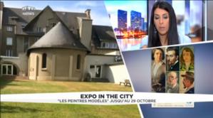 Vu sur mytf1 news : Les peintres modèles expo de condé dans les coups de cœur culture de Fleur Baudon