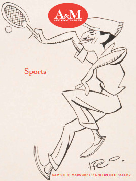 Vente Sports Audap et Mirabaud 11 mars 2017 à Drouot