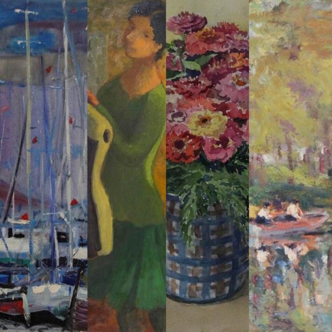Vente de quatre ateliers de peinture samedi 7 mars 2020, à 14h, à l'hôtel des ventes de Bayeux