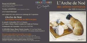 Reportage sur l'exposition l'Arche de Noé à Condé sur Noireau dans Là où ça bouge France 3 Basse Normandie