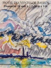 Vente des Peintres Normands Dimanche 18 mai Bayeux Enchères