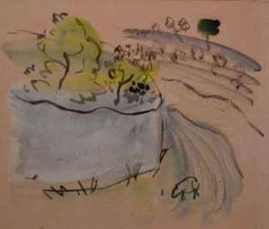 55 Raoul Dufy Adjugé 3 000 €