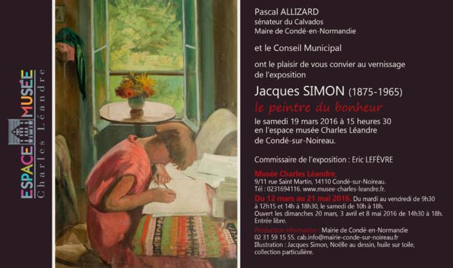 Jacques Simon au Musée Charles LÉANDRE : l'édito du Commissaire de l'exposition