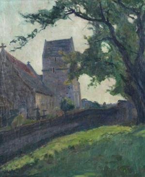 9 Eglise de Canon Jules Louis Rame, Adjugé 3000
