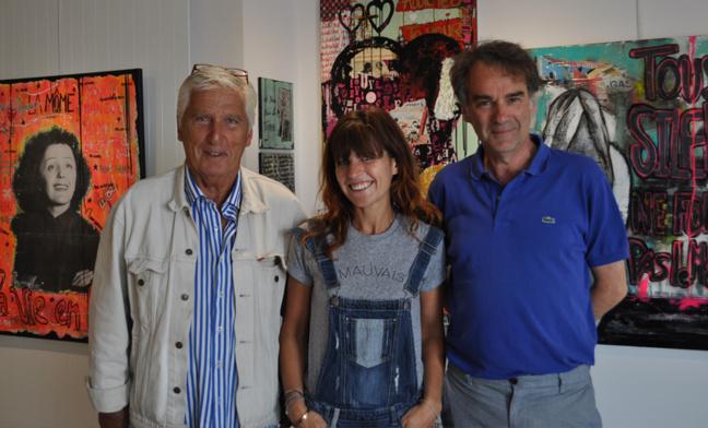 Bertrand Chapuis, Amanda Ade, Eric Lefèvre