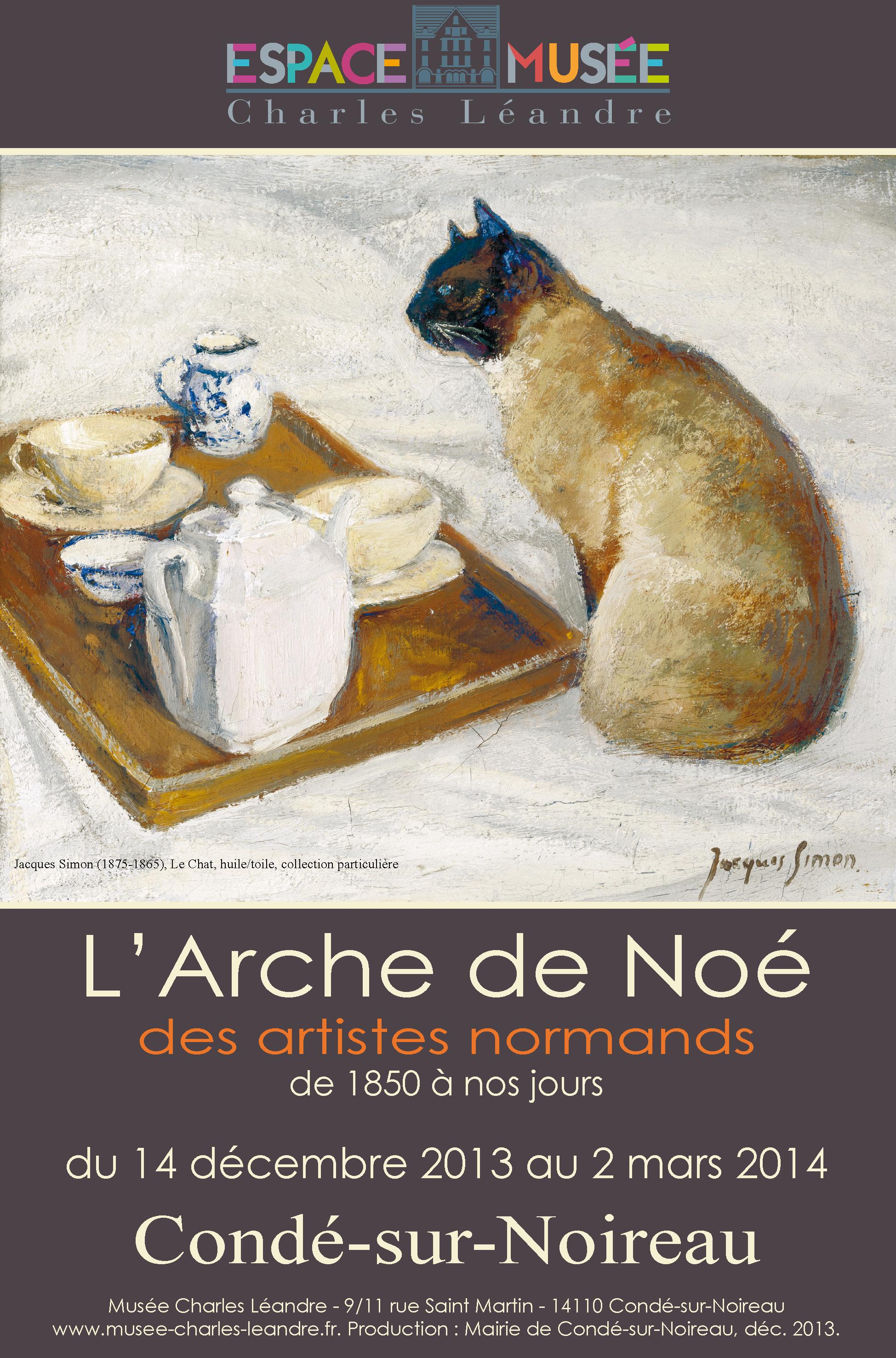 L'Arche de Noé des Artistes normands, 1850 à nos jours. Espace-musée Charles Léandre. Condé-sur-Noireau