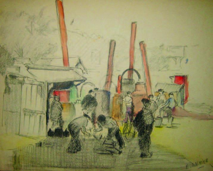 Atelier Eugène GASNIER (1910 - 1995)
