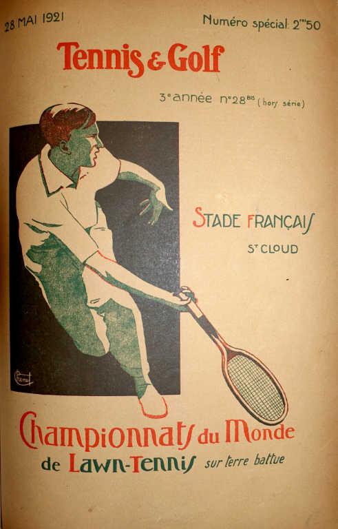 284 Revue tennis et golf complète de 1914 à 1939 Vendue 5500 euros