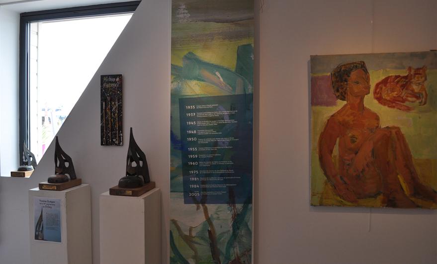 Exposition-Vente Yvonne Guégan et Amanda Ade à Ouistreham Riva Bella du 30 juillet au 10 aout 2016