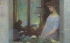 155 Femme à sa fenêtre Charles Léandre Adjugé 5100 euros