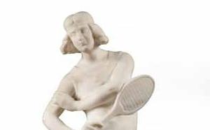 407 GIRBAFRANTI Enrico Joueuse de tennis, adjugé 2000