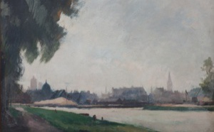 """CAEN EN IMAGES"" La ville vue par les artistes, du XIXe à la Reconstruction"