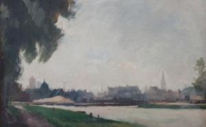 CAEN EN IMAGES, La ville vue par les artistes, du XIXe s. à la Reconstruction