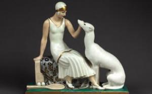347 Suzanne Lenglen Porcelaine de Limoges Vendue 4600 euros