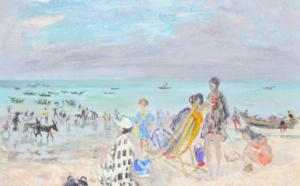 134 André HAMBOURG Plage de Luc-sur-Mer, Adjugé 5050